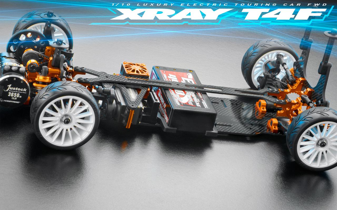 XRAY T4F - 2019 SPECS - 1/10 LUXURY ELECTRIC FWD TC - 300200