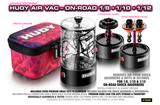 HUDY AIR VAC - VACUUMPUMP - ON-ROAD 1/8, 1/10, 1/12 - 104002_