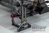 HUDY Alu Nut For 1/10 Off-Road Set-Up System (4) - 108960_