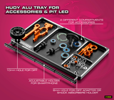 HUDY ALU TRAY FOR ACCESSORIES & PIT LED - 109880_