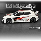 Bittydesign HC-F 1/10 FWD clear body 190mm - BDFWD-190HCF_