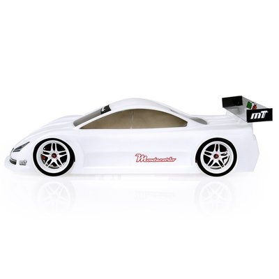 Mon-Tech Montecarlo Touring Electric Car Clear Body 190mm - 019-013
