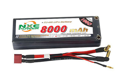NXE 2S2P LiHV 7.6V 200/100C HC 8.000 - TNL211C80