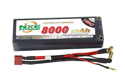 NXE 2S2P LiHV 7.6V 200/100C HC 8.000 - TNL211C80