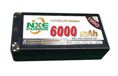NXE 2S1P shorty 7.6V 200/100C HC 6.000 - TNL111C60
