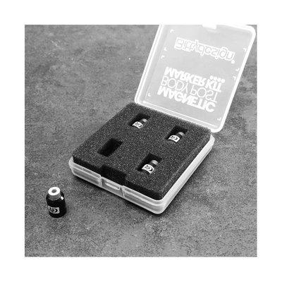 Bittydesign Magnetic Body Post Marker Kit - Color : Black - BDBPMK10-B