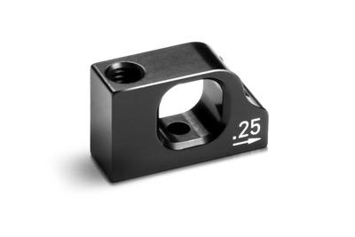 Xray T4'20 Alu Lower 2-Piece Suspension 0.25 Eccentric Holder Stand - 303731