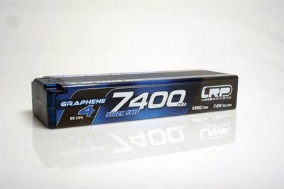 LRP HV Stock Spec GRAPHENE-4 7400mAh Hardcase Akku - 7.6V LiPo - 135C/65C - 431276