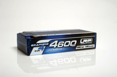 LRP HV LCG Modified Shorty GRAPHENE-4 4600mAh Hardcase Akku - 7.6V LiPo - 120C/60C - 431286