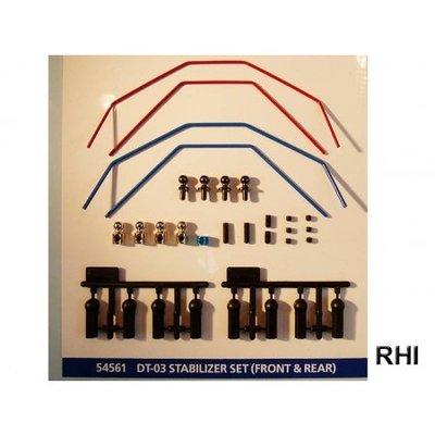 TAMIYA DT-03 Stabilizer Set (Front & Rear) - 54561