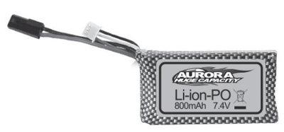 ABSIMA 7.4V 800mAh Battery Li-ion - AB30-DJ03