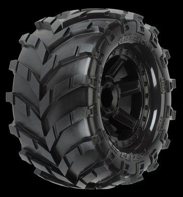 Proline Masher 2.8 (Traxxas Style Bead) All Terrain Tires Mounted on, PR1192-12 - 1192-12