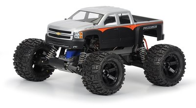 Proline Chevy Silverado 2500 HD Clear Body for Traxxas Stampede - 3357-00