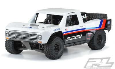 Proline 1967 Ford F-100 Pre-Cut Clear Body Set For Traxxas UDR Unlimited Desert Racer - 3547-17