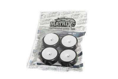 Matrix 1/10 EP 36R Rubber Tire Pre-glued 4pcs Asphalt - EPA036