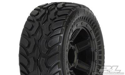 Proline Dirt Hawg I Off-Road Tires Mounted on Desperado Wheels (2) f, PR1071-11 - 1071-11