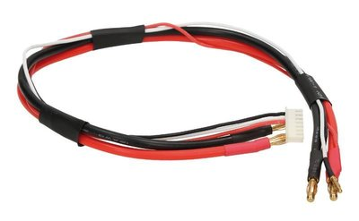 Orion 5mm 2S Pro Balance Charge Lead (45cm, 10AWG/20AWG) - ORI40058