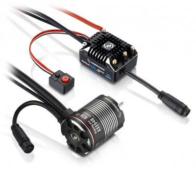 Hobbywing Combo Xerun Axe540 1800kv Foc Sensored Brushless System V1.1 - 38020252