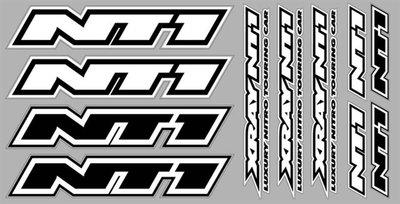 Xray Nt1 Sticker For Body White Die-cut, X397331 - 397331