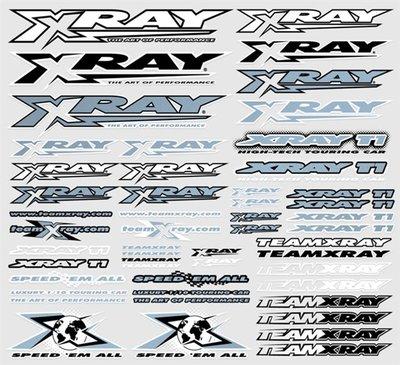 Xray Sticker For Body Metalic Silver, X397312 - 397312