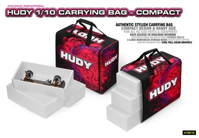 Hudy 1/10 Carrying Bag - Compact - 199110