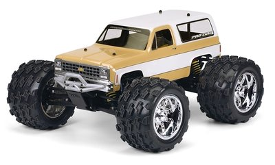 Proline 1980 Chevy Blazer Clear Body For T/e/2.5-maxx, Revo 2.5, Pr3244-00 - 3244-00