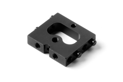 XRAY ALU FORWARD SERVO MOUNT - BLACK - 306205
