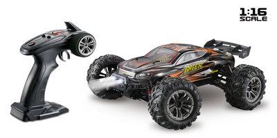 ABSIMA Scale 1:16 Truggy RACER black/orange 4WD RTR - 16003
