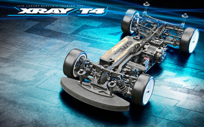 XRAY T4'21 - GRAPHITE EDITION - 1/10 LUXURY ELECTRIC TC - 300028