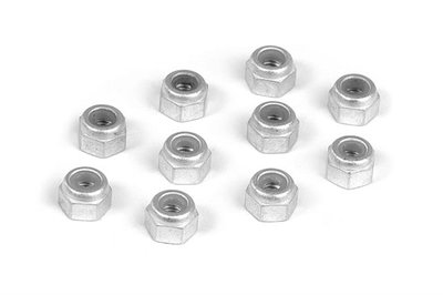 Xray Alu Nut M3 (10), X960031 - 960031