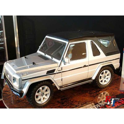 58635 1/10 MF-01X Mercedes-Benz G 320 Cabrio Silver painted Body