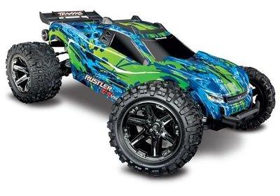 Traxxas Rustler 4x4 Vxl Tqi Tsm (no Battery/charger), Green, Trx67076-4g - 67076-4G