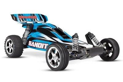 Traxxas Bandit Xl-5 Tq (no Battery/charger), Blue, Trx24054-4b - 24054-4B