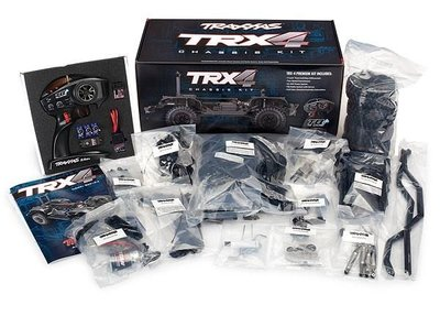 Traxxas Trx-4 Kit Crawler Tqi, Xl-5, Without Battery And Charger, #trx82016-4 - 82016-4