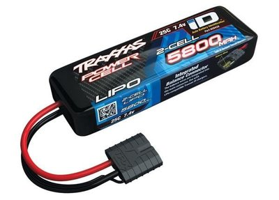 Power Cell LiPo 5800mAh 7.4V 2S 25C , all models ID