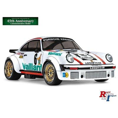47477 1:10 TA02SW Porsche Turbo RSR wit 45th anniversary edition
