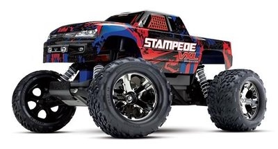 Traxxas Stampede Vxl Tqi Tsm (no Battery/charger), Red, Trx36076-4r - 36076-4R