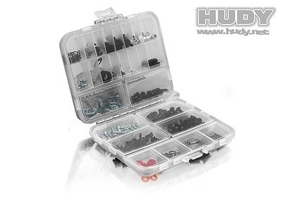 Hudy Plastic Box, double sided - compact - 298011