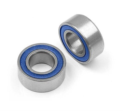 High-Speed Ball-Bearing 5X10X4 Rubber Sealed (2) - 940510