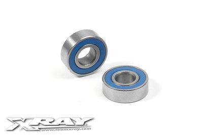 High-Speed Ball-Bearing 5X12X4 Rubber Sealed  (2) - 940512