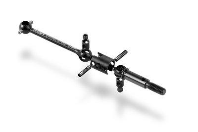 XRAY ECS ES (EXTRA STRONG) DRIVE SHAFT 51MM-HUDY SPRING STEEL SET - 305334
