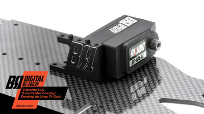 BRUNO RC BC-1863X Digital Servo LCG for Xray T4 Only - BR1-BC-1863X