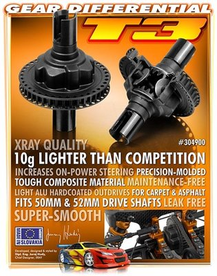 XRAY GEAR DIFFERENTIAL - SET - 304900