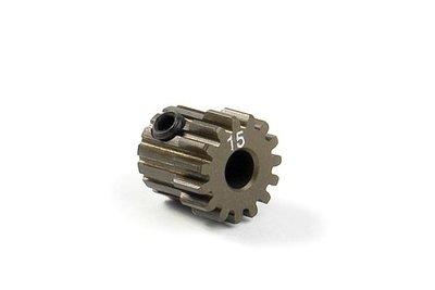 XRAY Narrow Pinion Gear Alu Hard Coated 15T : 48 - 305915
