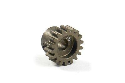 XRAY Narrow Pinion Gear Alu Hard Coated 18T : 48 - 305918