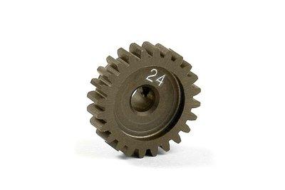 XRAY Narrow Pinion Gear Alu Hard Coated 24T : 48 - 305924