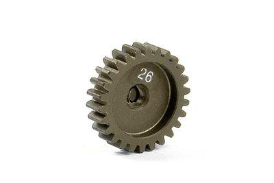 XRAY Narrow Pinion Gear Alu Hard Coated 26T : 48 - 305926
