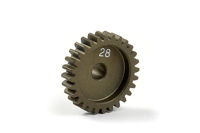 XRAY Narrow Pinion Gear Alu Hard Coated 28T : 48 - 305928