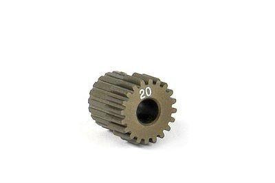 XRAY Narrow Pinion Gear Alu Hard Coated 20T : 64 - 305970