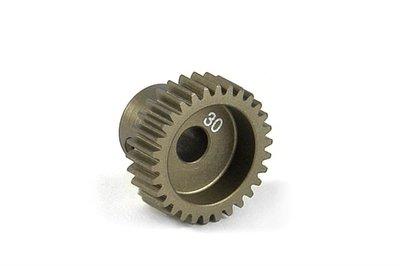 XRAY Narrow Pinion Gear Alu Hard Coated 30T : 64 - 305980